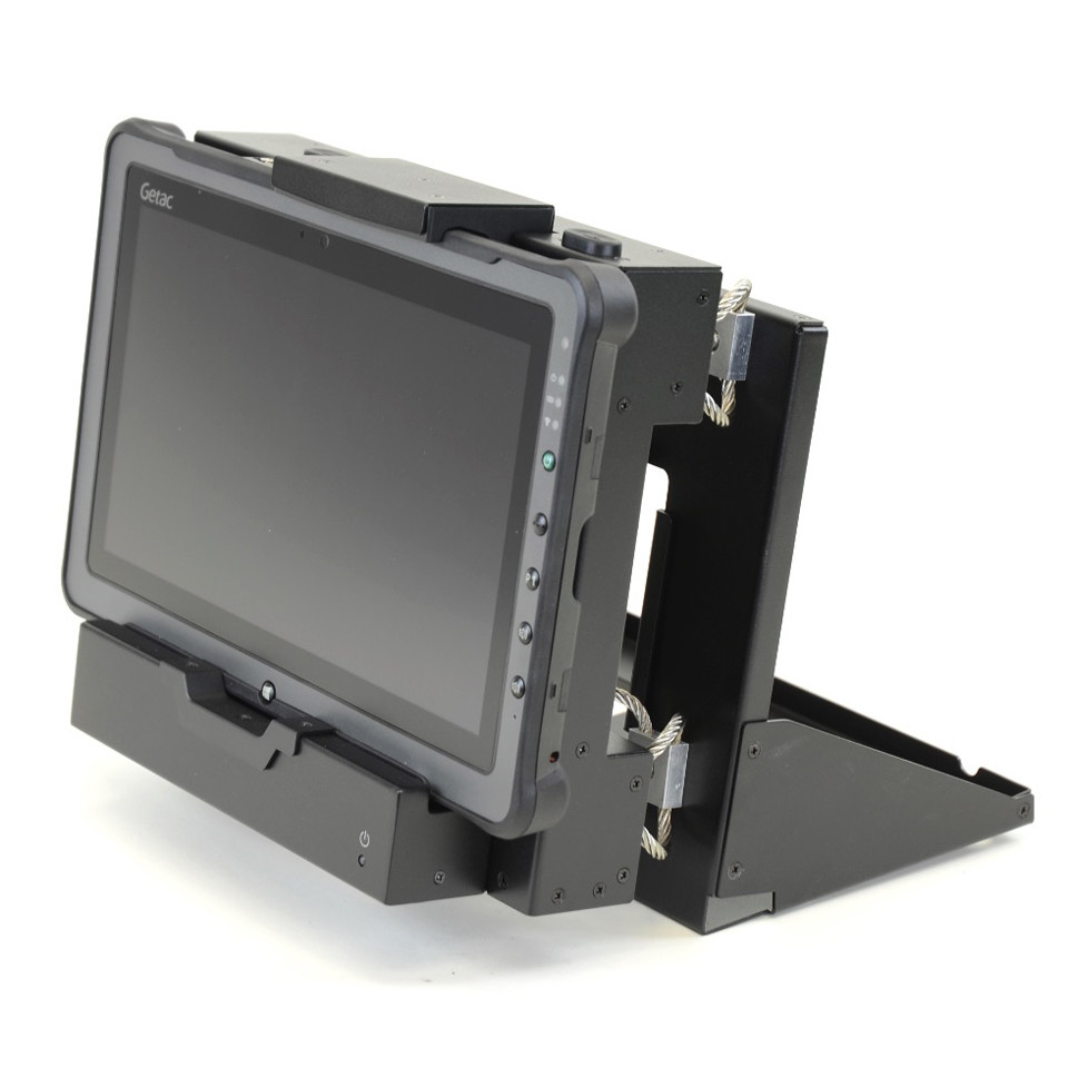 Getac F110 Shock Isolated Mobile Gun Dock Main Image
