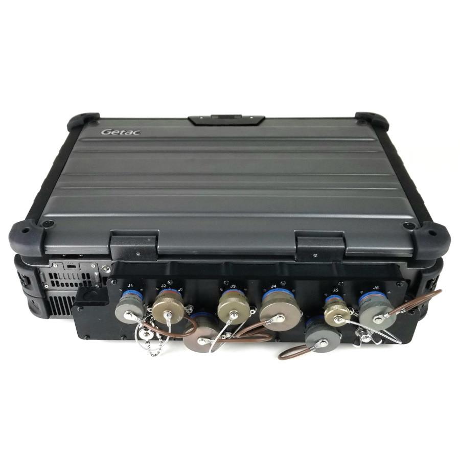 Getac X500 Laptop Double High 38999 Rear MILBOX Main Image