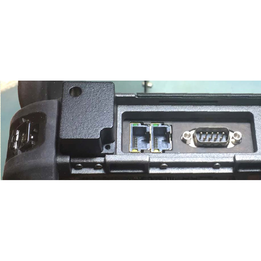 X500 laptop IO expansion for two 10/100/1000 Ethernet, LAN3 & LAN4 along with an additional serial port, serial #3
